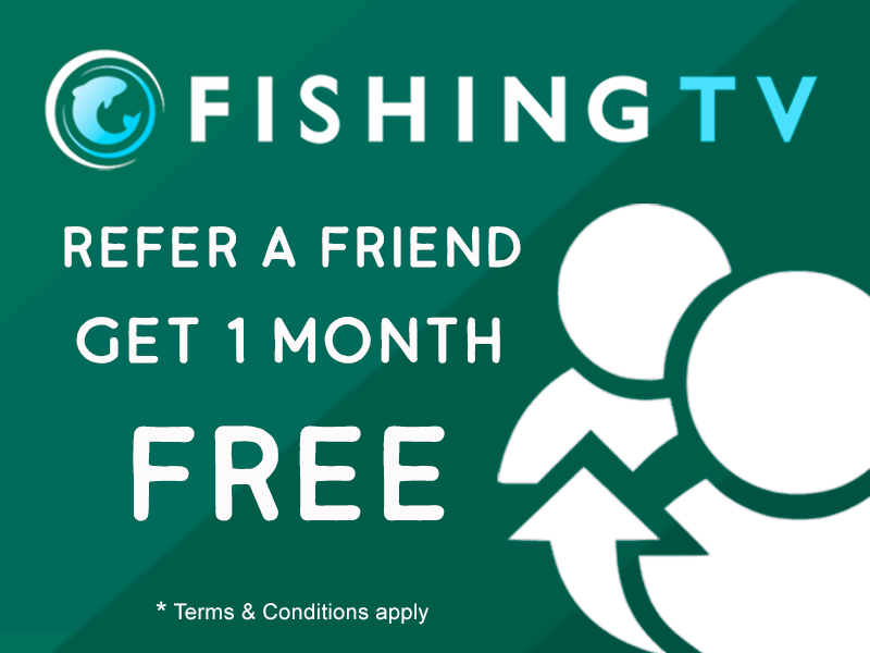 Refer a Friend and Get Free Fishing TV